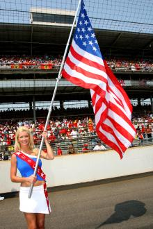 02.07.2006 Indianapolis, USA, USA GP grid girl - Formula 1 World Championship, Rd 10, United States