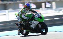 Sofuoglu fastest as Rea suffers painful fall