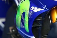 Vinales new Yamaha fairing, German MotoGP 2017
