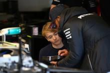 Monger takes podium on racing return