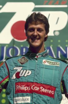 1991 Formula One World Championship, Belgian Grand Prix, Spa Francorchamps, 25th August 1991. Micha