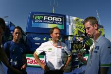 Christian Loriaux (FRA), Chief Engineer, BP Ford World Rally Team. Acropolis Rally of Greece, 31st M