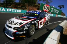 Steven Johnson (Aust) Will Davison (Aust) Jim Beam Ford finished 3rdSupercheap Autos Bathurst 1000Rd