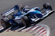Paul Tracy, Forsythe Racing Lola-Ford, Laguna Seca 2004.