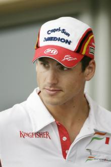 Unconcerned Sutil insists: I'm driving at my best.