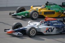 Indy Racing League. 27 April 2008. Kansas Oriol Servia and Will Power.