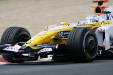 Fernando Alonso (ESP) Renault R28, French F1 Grand Prix, Magny Cours, France, 20th-22nd, June, 2008