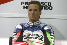 Sete Gibernau shocked as team quits MotoGP.