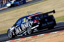 Bayliss, Collins test Jack Daniel's Holden.