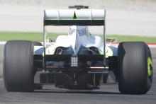 Brawn BGP001 Diffuser, Turkish F1, Istanbul Park, 5th-7th June, 2009