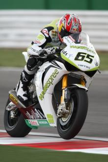 Rea leads as Ten Kate sample new suspension