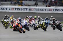 Start, Indianapolis MotoGP Race 2009