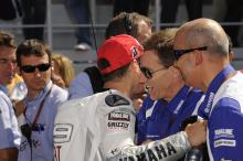 Lorenzo and Jarvis, Portuguese MotoGP Race 2009