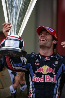 Race, Mark Webber (AUS), Red Bull Racing, RB6 race winner