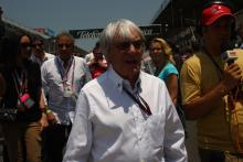 Race, Bernie Ecclestone (GBR), President and CEO of Formula One Management
