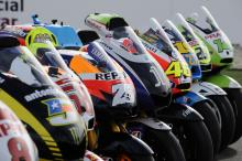 MotoGP bike line-up, Qatar MotoGP 2011