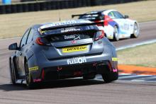 Smiley takes maiden BTCC win in chaotic third race