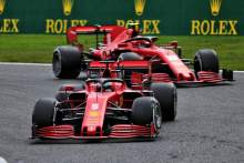 Vettel calls for 'togetherness' at Ferrari after Belgium F1 struggles