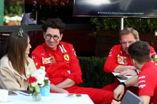 Ferrari: Binotto never mentioned about the team quitting F1