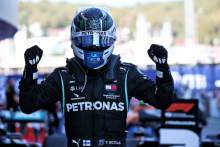 Race winner Valtteri Bottas (FIN) Mercedes AMG F1 celebrates in parc ferme.