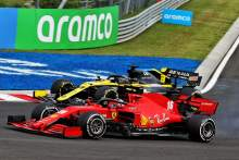 Ricciardo surprised by scale of Ferrari's 2020 F1 struggles