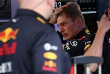 Where is Verstappen's head at?