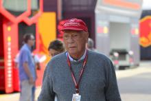 Lauda in hospital with flu after lung transplant