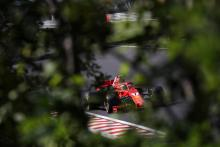 Who is driving at the F1 Hungary test?