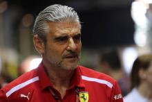 Ferrari cost cap call is Camilleri's and board, says Arrivabene