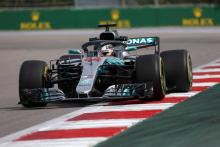 Hamilton, Mercedes close out Russian GP practice fastest
