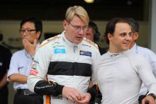 Hakkinen wants more young driver testing, tyre war in F1
