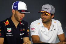 Sainz plays down catching Gasly in F1 2019 season