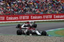 Alfa Romeo formally appeal German GP penalties