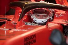Leclerc: My Ferrari F1 hero was Schumacher