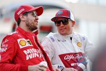 Raikkonen doubts F1 rift between Vettel and Ferrari