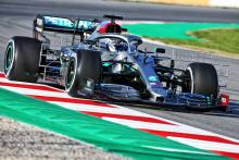 Bottas leads opening morning of F1 pre-season testing