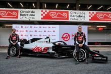 Haas rolls out 2020 F1 car ahead of testing at Barcelona