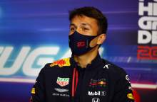 Albon feeling 'no extra pressure' despite Red Bull F1 exit rumours