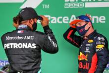 Verstappen 'motivated' by Hamilton's F1 win record
