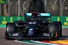 Hamilton leads Verstappen in sole Emilia Romagna GP F1 practice