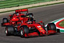 Leclerc 'expected more' from Ferrari following P7 in F1 qualifying at Imola