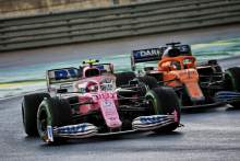 Racing Point: Front wing damage behind Stroll's loss of pace in F1 Turkish GP