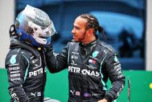 """Bottas says there was """"not a lot"""" between him and Hamilton in F1 2020"""