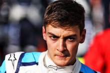 Russell 'heartbroken' to miss out on first F1 points