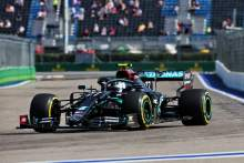 Valtteri Bottas tops red-flagged first practice for F1 Russian GP, Lewis Hamilto