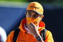 Norris limited F1 practice running due to back pain