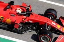 "Vettel in a ""better place"" after Friday F1 practice in Spain"