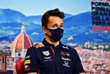 Albon feels no extra pressure to perform despite Gasly's F1 win