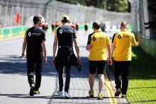 "Renault furloughs ""vast majority"" of F1 staff"