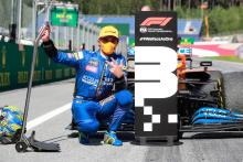 Norris 'speechless' as sensational final lap earns him F1 podium